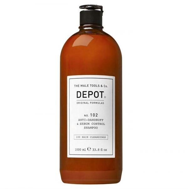 Depot No. 102 Anti-Dandruff & Sebum Control Shampoo 1000ml
