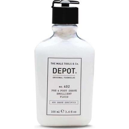 Depot No. 402 Pre & Post Shave Emollient Fluid 100ml