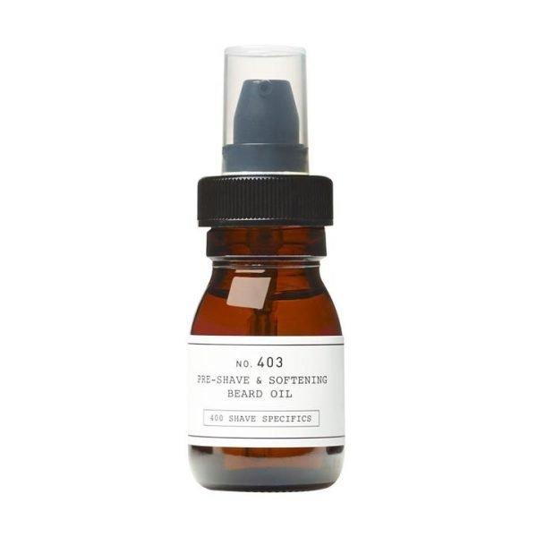 Depot No. 403 Pre-Shave & Softening Beard Oil Sweet Almond 30ml