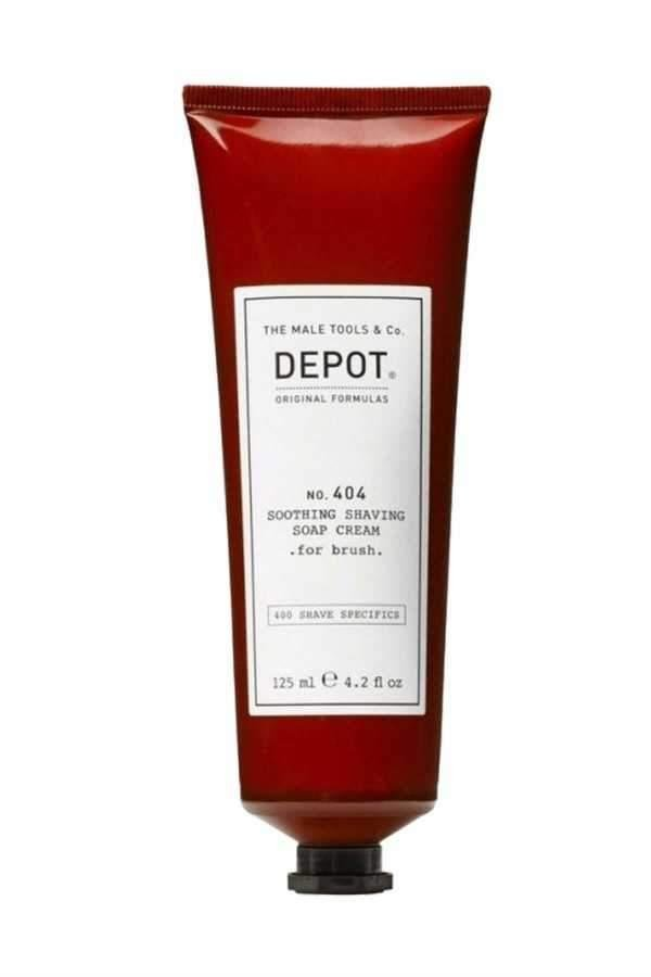 Depot No. 404 Smoothing Shaving Cream Soap. For Brush. 400ml