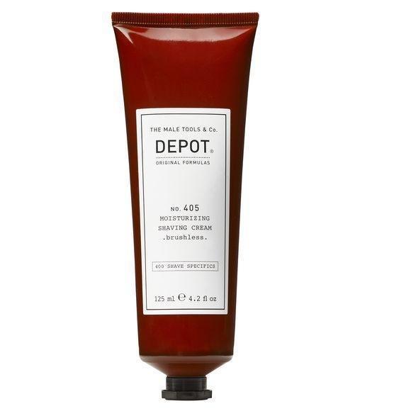 Depot No. 405 Moisturizing Shaving Cream. Brushless. 125ml