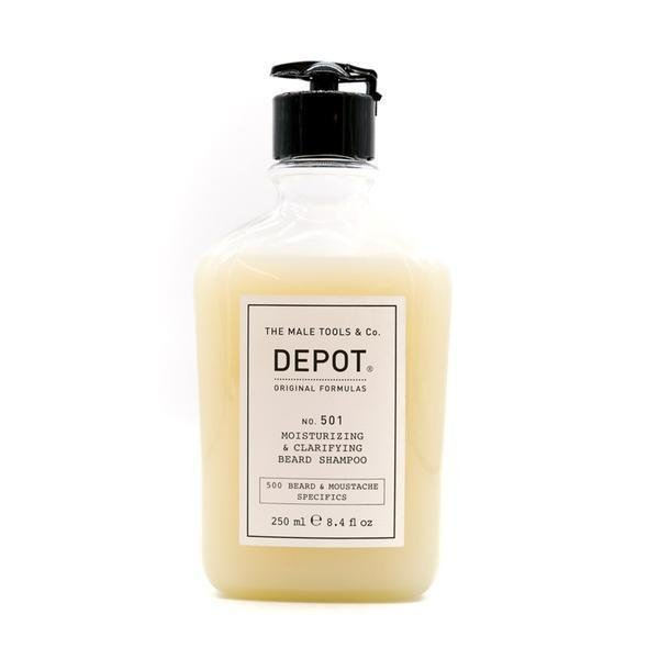 Depot No. 501 Moisturizing & Clarifying Beard Shampoo 250ml