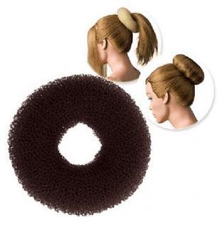 Dress Me Up Regular Brown Hair Donut - Large 16g