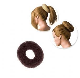 Dress Me Up Regular Brown Hair Donut - Small 6g