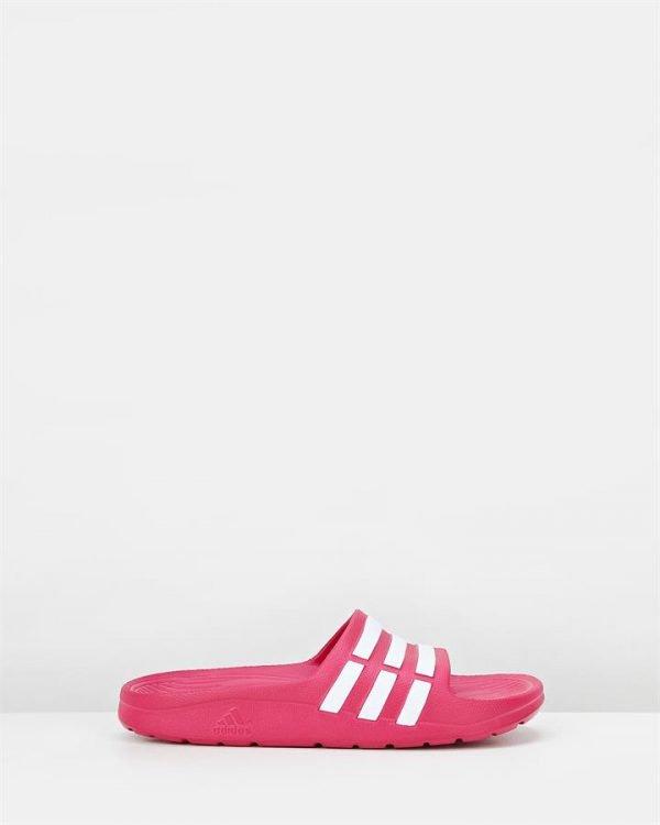 Duramo Slide Yth G Pink/White
