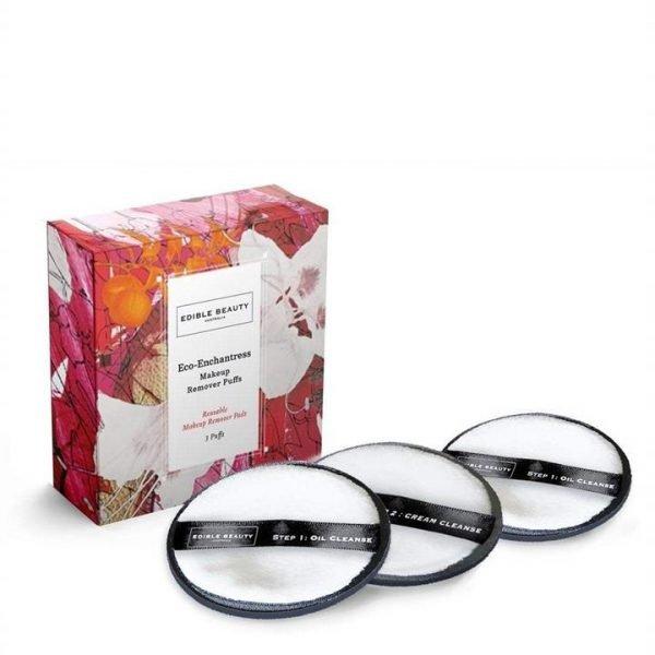 Edible Beauty Eco Enchantress Makeup Oil Remover Puffs