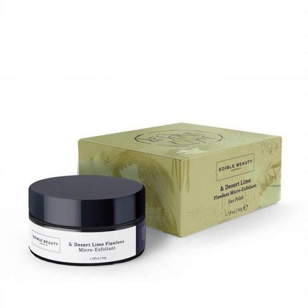 Edible Beauty & Desert Lime Flawless Micro Exfoliant 50g