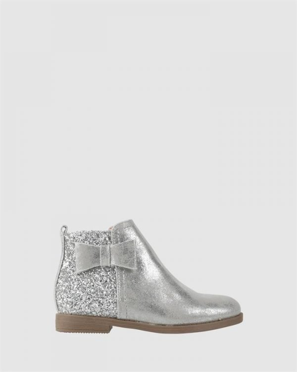 Edith Boot Soft Silver
