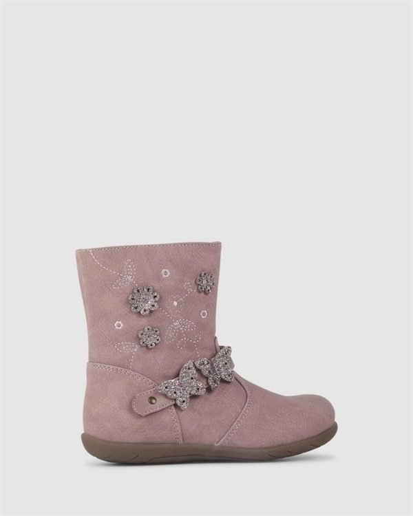 Effy Enchanted Boot Rose Shimmer