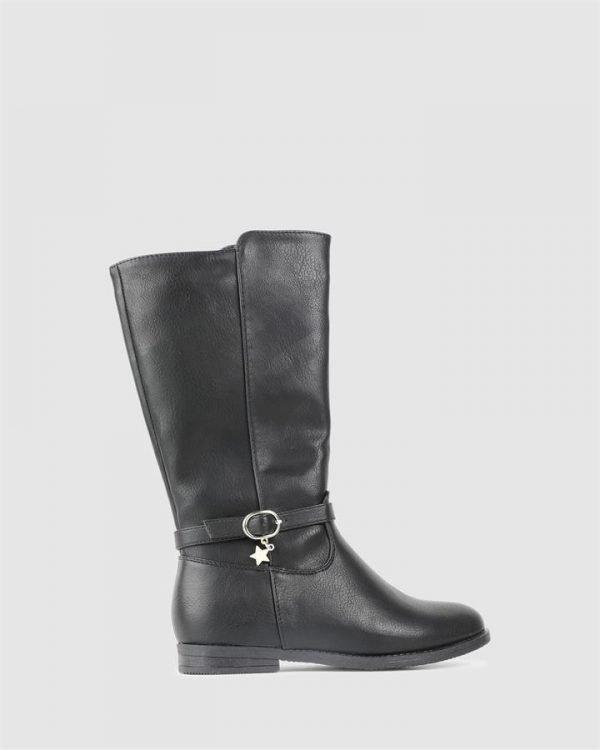 Elianna Boot Black