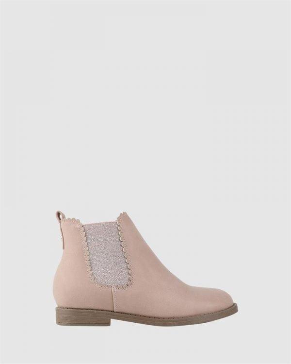 Emmalyn Boot Nude Pink