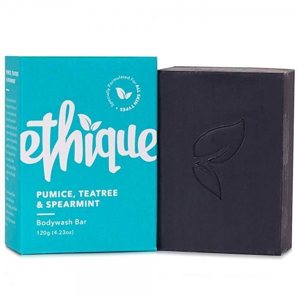 Ethique Solid Bodywash Bar Pumice, Tea Tree & Spearmint 120g