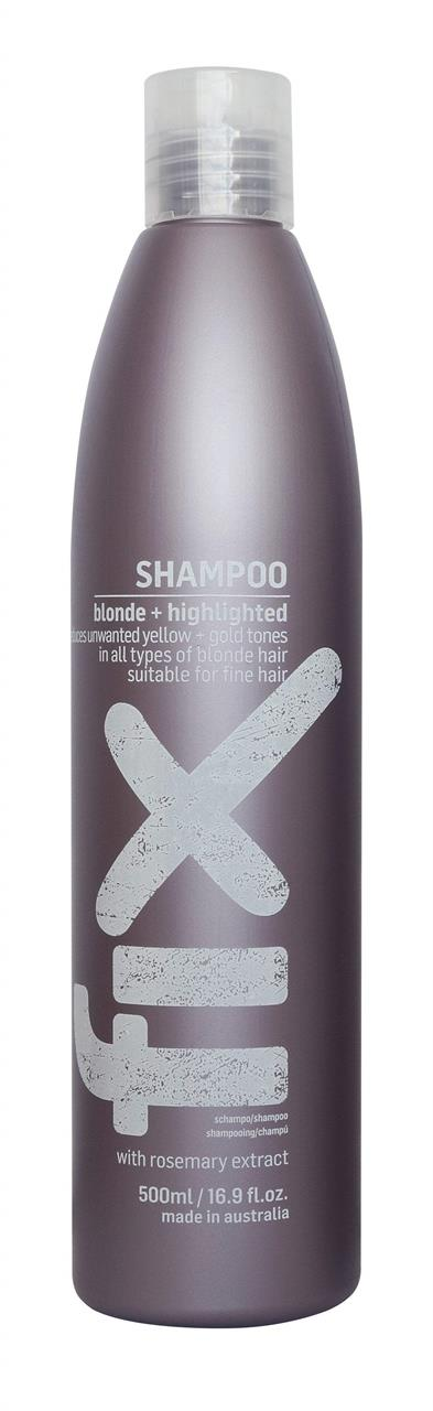 Fix Blonde + Highlighted Shampoo 500ml