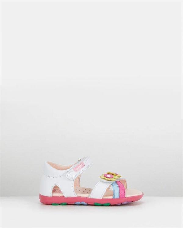 Flower Sandal G 031300 Inf White Multi