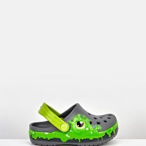 Fun Lab Slime Band Clog K Slate Grey