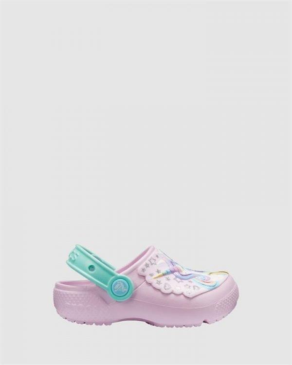 Fun Lab Unicorn Clog Pink/Mint