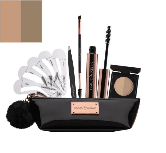 Garbo & Kelly Brow Couture Five Piece Brow Set - Brunette