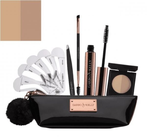 Garbo & Kelly Brow Couture Five Piece Brow Set - Cool Blonde