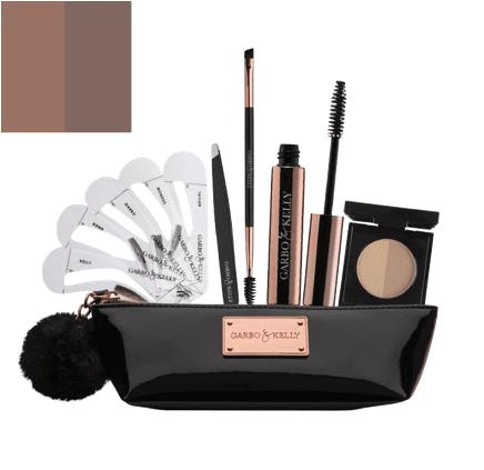 Garbo & Kelly Brow Couture Five Piece Brow Set - Sable