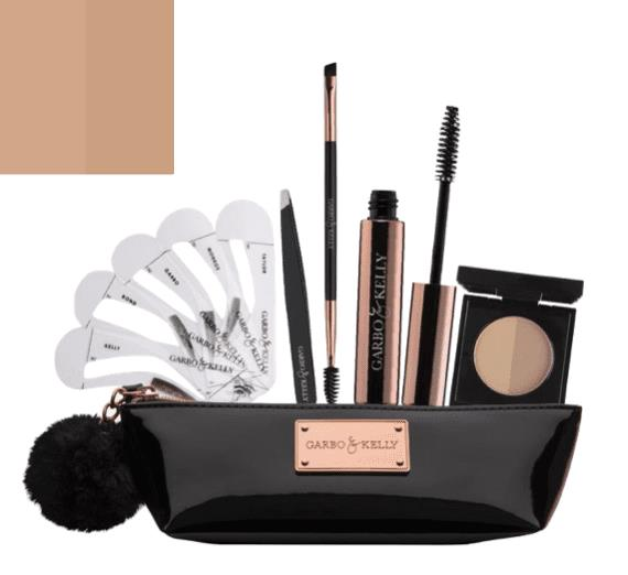 Garbo & Kelly Brow Couture Five Piece Brow Set - Warm Blonde
