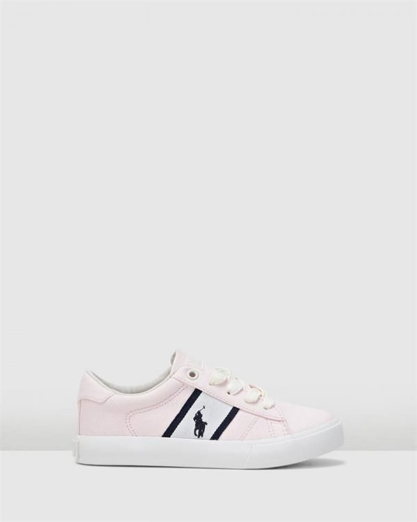 Geoff Ez Canvas Yth G Pink/White
