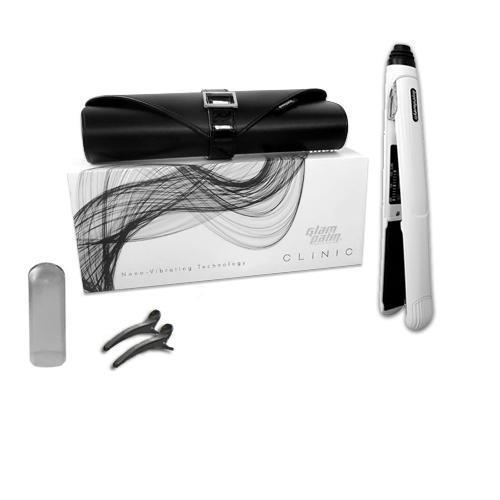Glam Palm Classic Series GP225 CLINIC - Nano Vibrating Iron - White