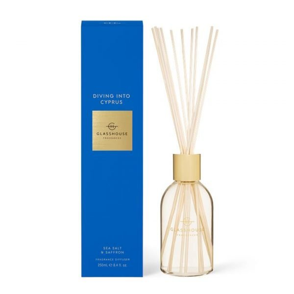 Glasshouse DIVING INTO CYPRUS Diffuser 250ml