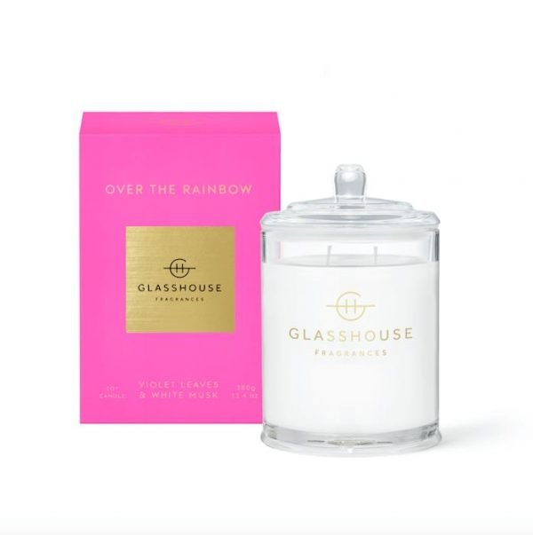Glasshouse OVER THE RAINBOW Candle 380g