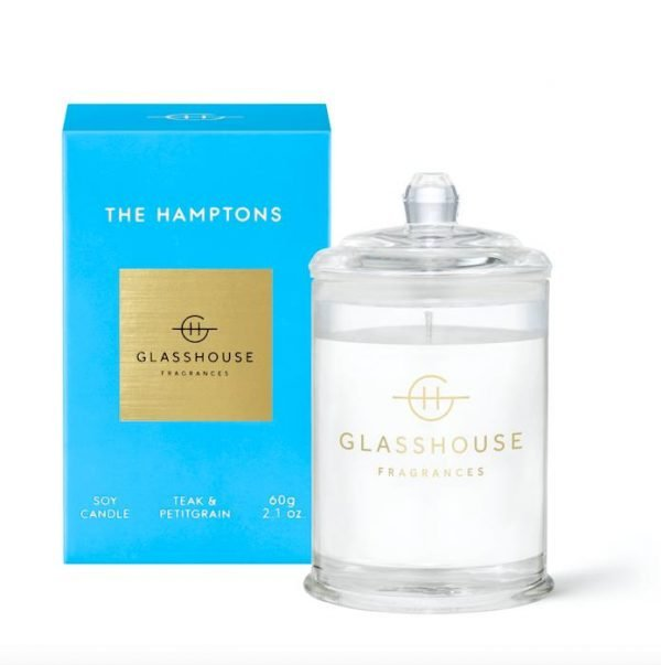 Glasshouse THE HAMPTONS Candle 60g