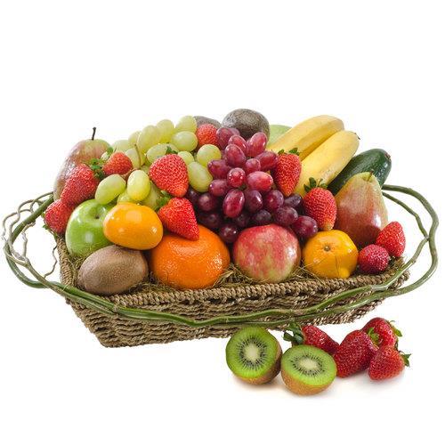 Healthy Living - Basket of Seasonal Fruit