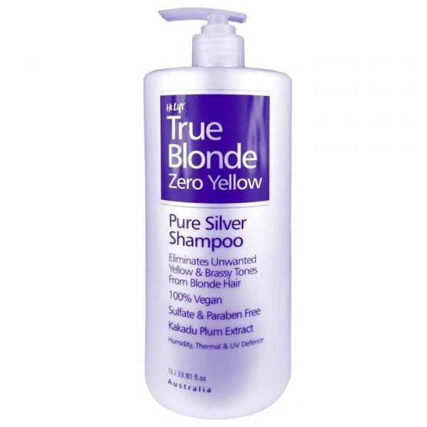 Hi Lift True Blonde Zero Yellow Pure Silver Shampoo 1000ml