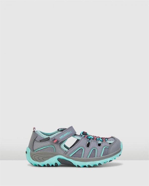 Hydro H2 O Hiker Sandal G Grey/Turquoise