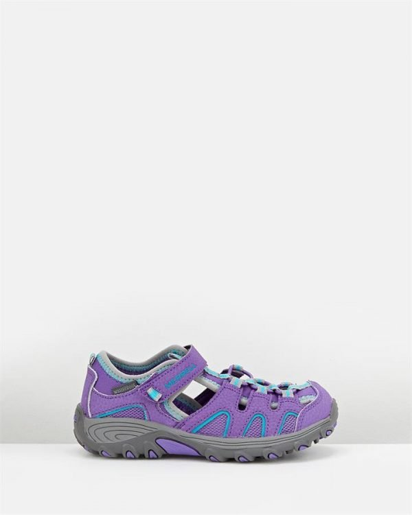 Hydro H2 O Hiker Sandal G Purple/Grey