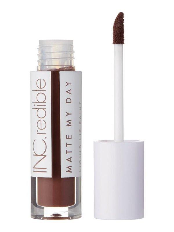 INC.redible Matte My Day Matte Liquid Lip Paint You Won't Bring Me Down - Cocoa 3.48g