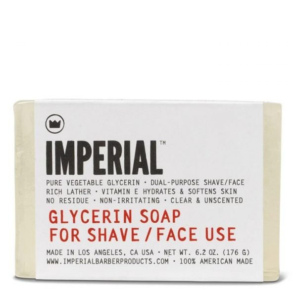 Imperial Glycerin Shave/Face Soap Bar 176g