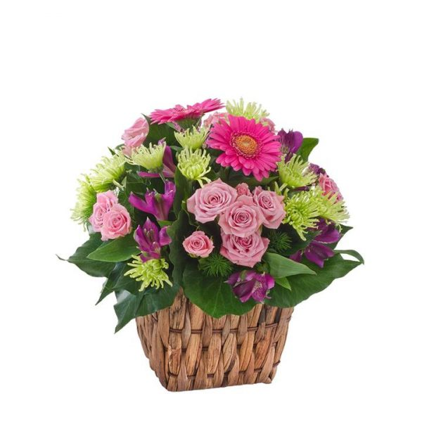 Jazz - Mixed Flower Basket