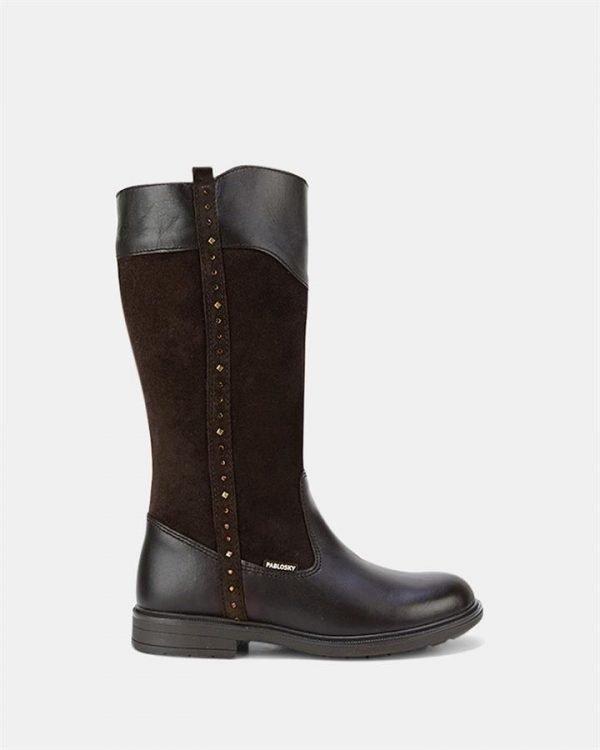 Jewel Long Boot 4499 Yth Chocolate