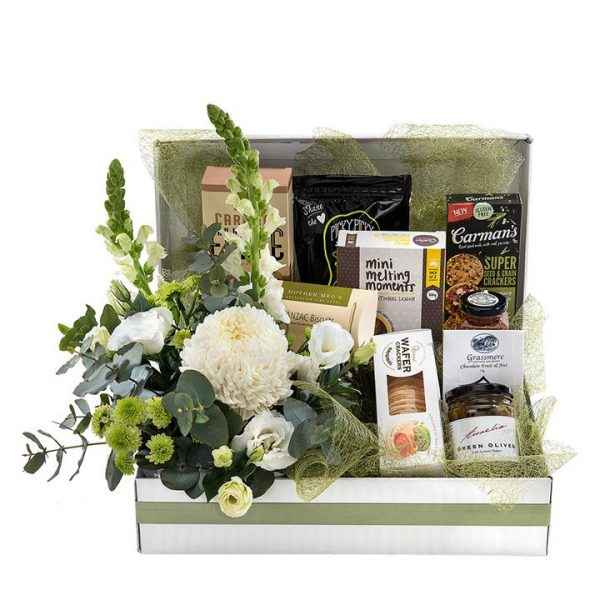 Just for Her - Sweet Gourmet with Flowers
