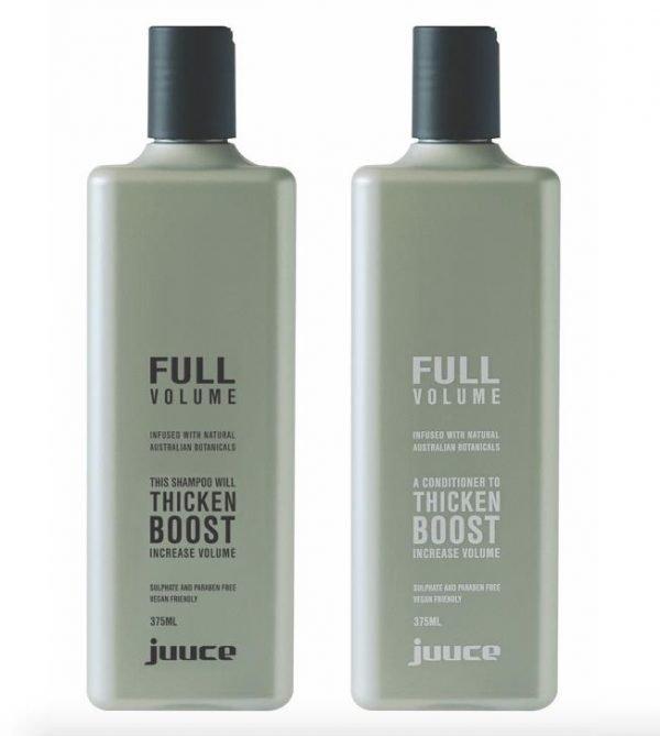 Juuce Full Volume Shampoo and Conditioner 375ml Duo
