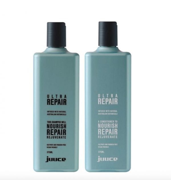 Juuce Ultra Repair Shampoo and Conditioner 375ml Duo