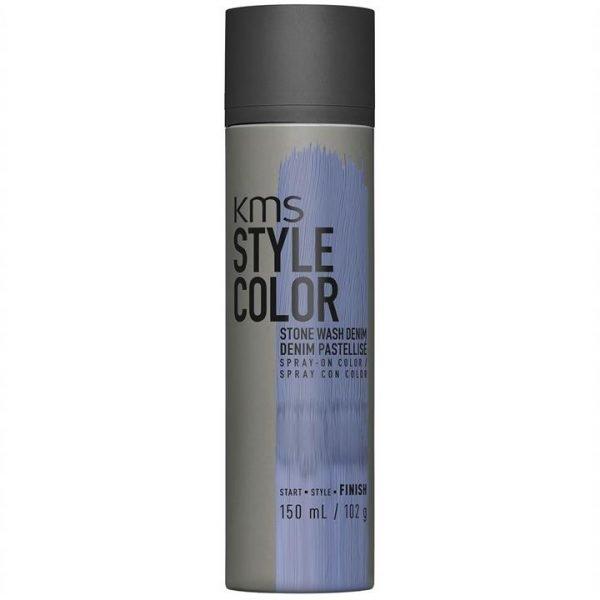 KMS Style Color Spray On Colour - Stone Wash Denim 150ml