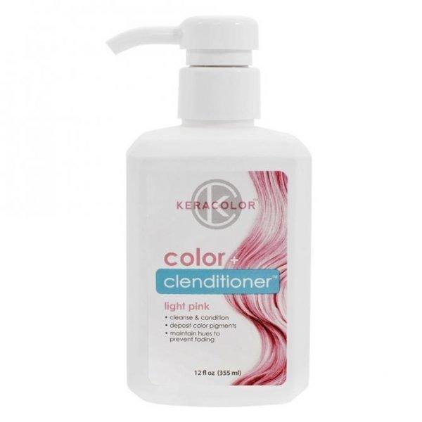 Keracolor Color Clenditioner Colour Shampoo Light Pink 355ml