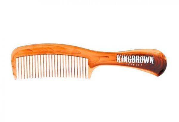 King Brown Tortoise Handle Comb