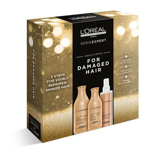 L'Oréal Professionnel Absolut Repair Trio Pack with 10 in 1 Spray