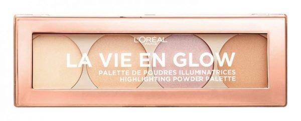 L'Oréal Paris La Vie En Glow Highlight Palette - 01 Warm Glow