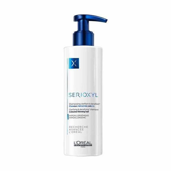 L'Oréal Professionnel Serioxyl Clarifying & Densifying Shampoo 250ml (Coloured Hair)