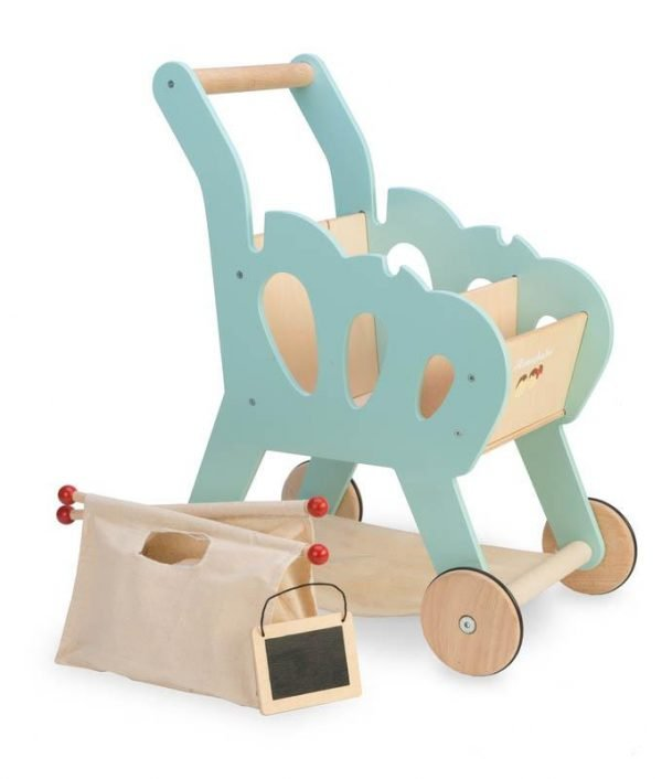 Le Toy Van Honeybake Shopping Trolley and Bag