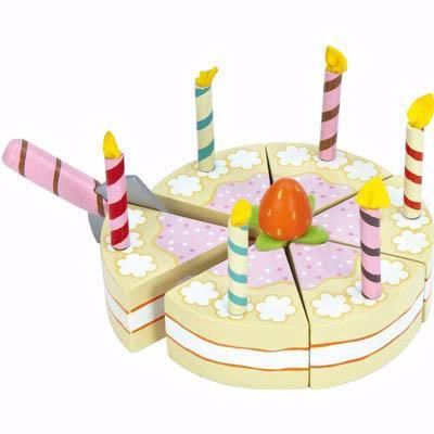 Le Toy Van Honeybake Vanilla Birthday Cake