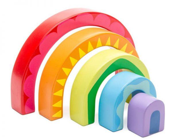 Le Toy Van Petilou Rainbow Tunnel