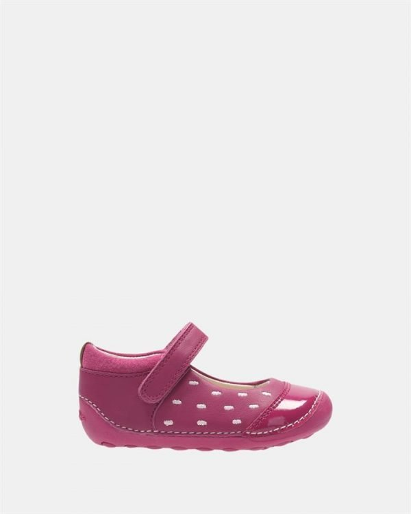 Little Lou Pink Leather